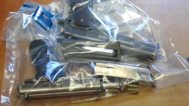 Two suspects arrested after they had robbed a man of his cell phone and wallet, Western Cape