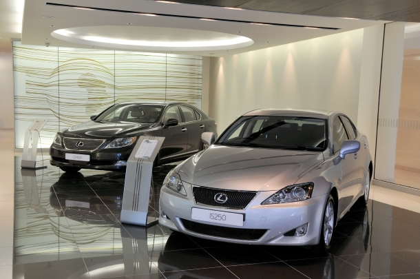 Premium Lexus dealership for Cape Town