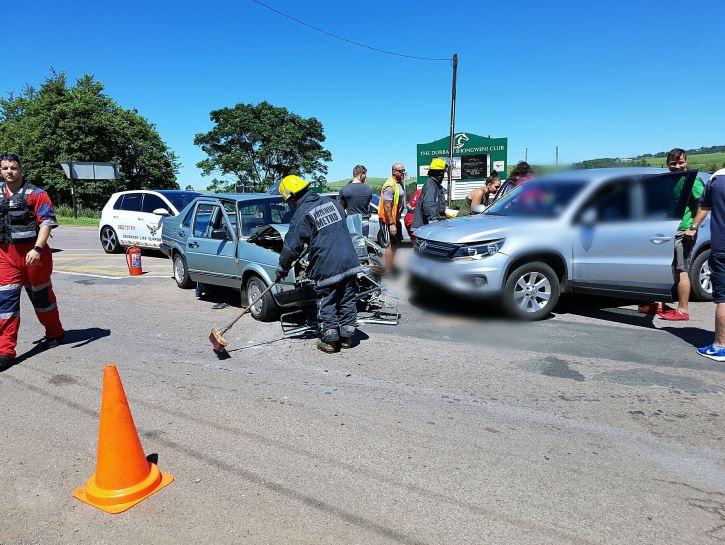 4 Injured in Hillcrest collision