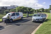 Umhlanga pedestrian crash leaves man fighting for his life