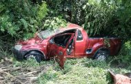 Six people including a child injured after a vehicle overturned near La Lucia Mall, Durban