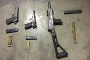 Community tip-off results in arrest and recovery of illegal firearms