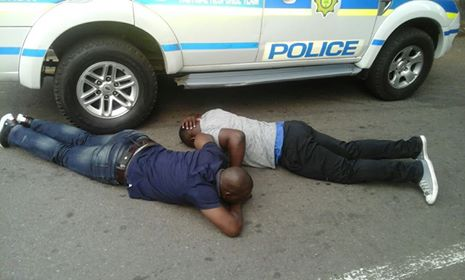 3 Suspects arrested for possession of unlicenced firearms, Hillbrow