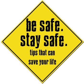 Be crime conscious