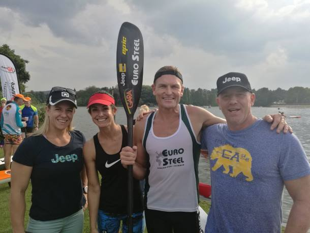 McGregor Duo Paddle to Victory at FNB Surfski Series Race 9