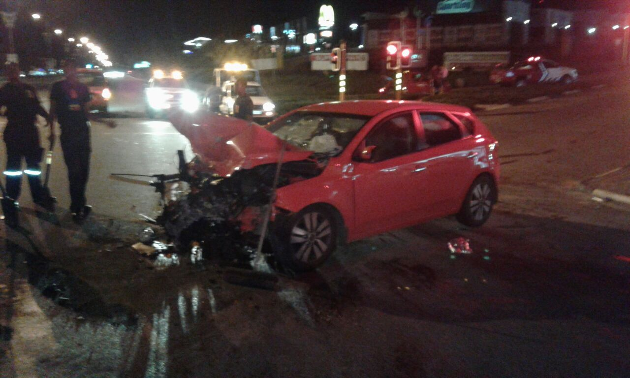 Late night collision leaves six injured in Nelspruit, Mpumalanga