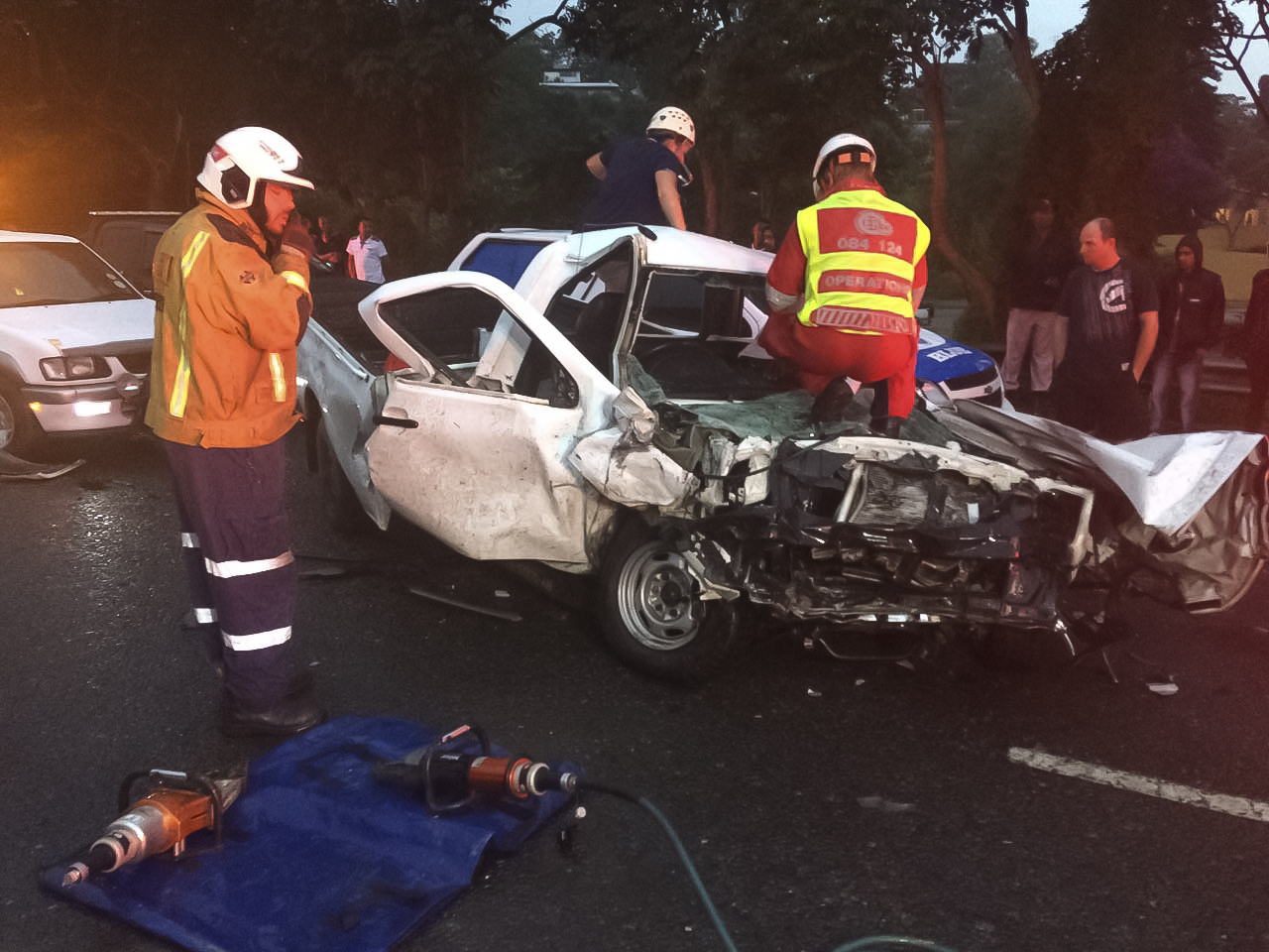 M7 Snarl-up leaves 1 dead 4 critically injured, Pinetown