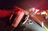 19 Injured in taxi crash on the N2 North bound near Clare Road bridge