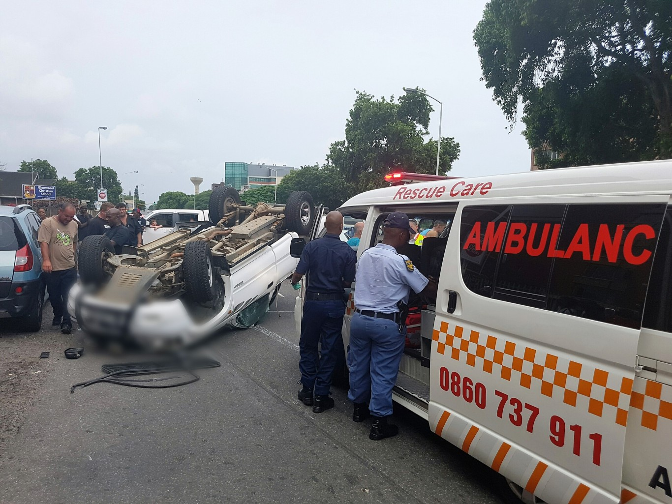 4 Injured in crash in Umbilo