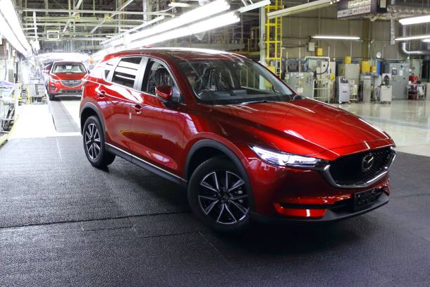 Mazda to Produce All-New CX-5 at Hofu Plant