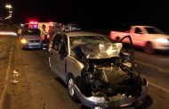 Two injured in collision on Nelson Mandela Drive, Bloemfontein