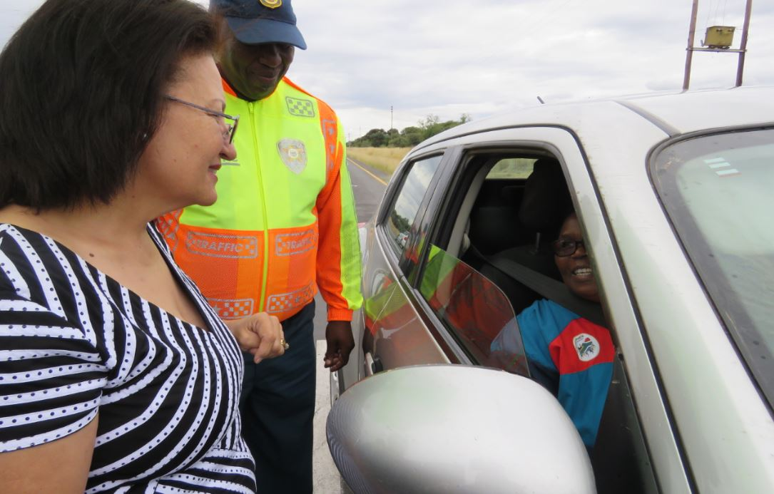 MEC Pauline Williams launches Northern Cape Road Safety Easter Campaign
