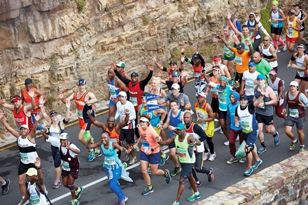 #GOGREEN and keep it clean at the Old Mutual Two Oceans Marathon