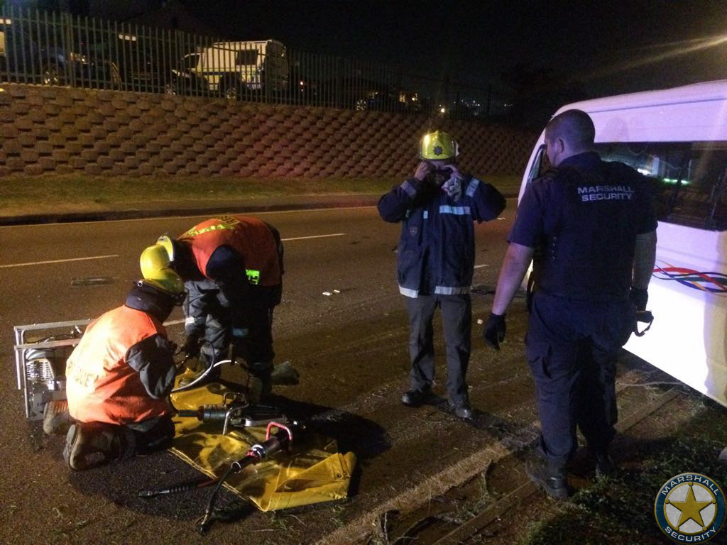 Motor Vehicle Collision On North Coast Road Durban Road