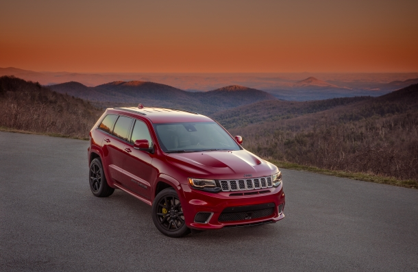 707-horsepower 2018 Jeep® Grand Cherokee Trackhawk