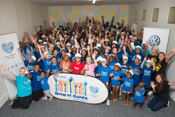 Volkswagen shows kindness to Ububele Early Childhood Development Centre in Alexandra