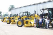 Handover of graders for road construction, Pietermaritzburg