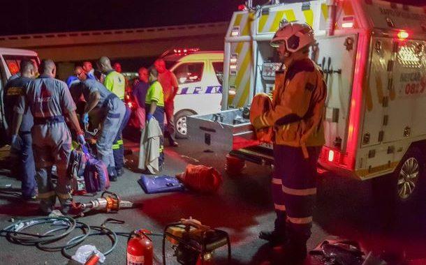 Durban N2 crash leaves two injured on Umgeni Road