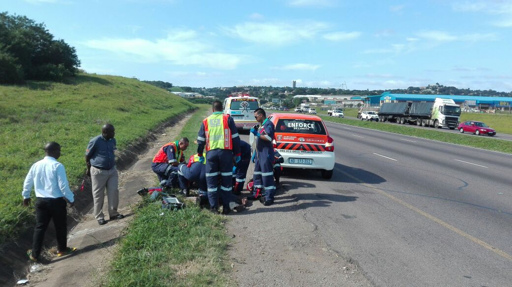Elderly man in critical condition after a stabbing on the N2 near Umhlanga