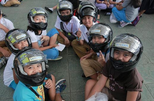 Child helmet law victory at last in Philippines