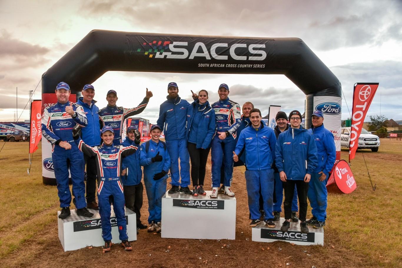 Ford NWM Puma Lubricants team victorious on treacherous Battlefields 400 Cross Country race