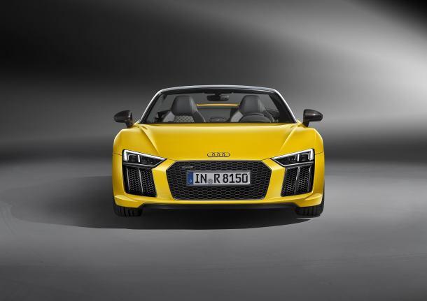 Pure emotion: the new Audi R8 Spyder V10