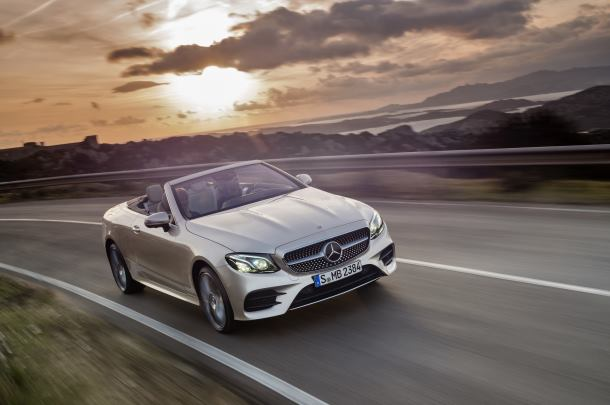 Production start of the new E-Class Cabriolet