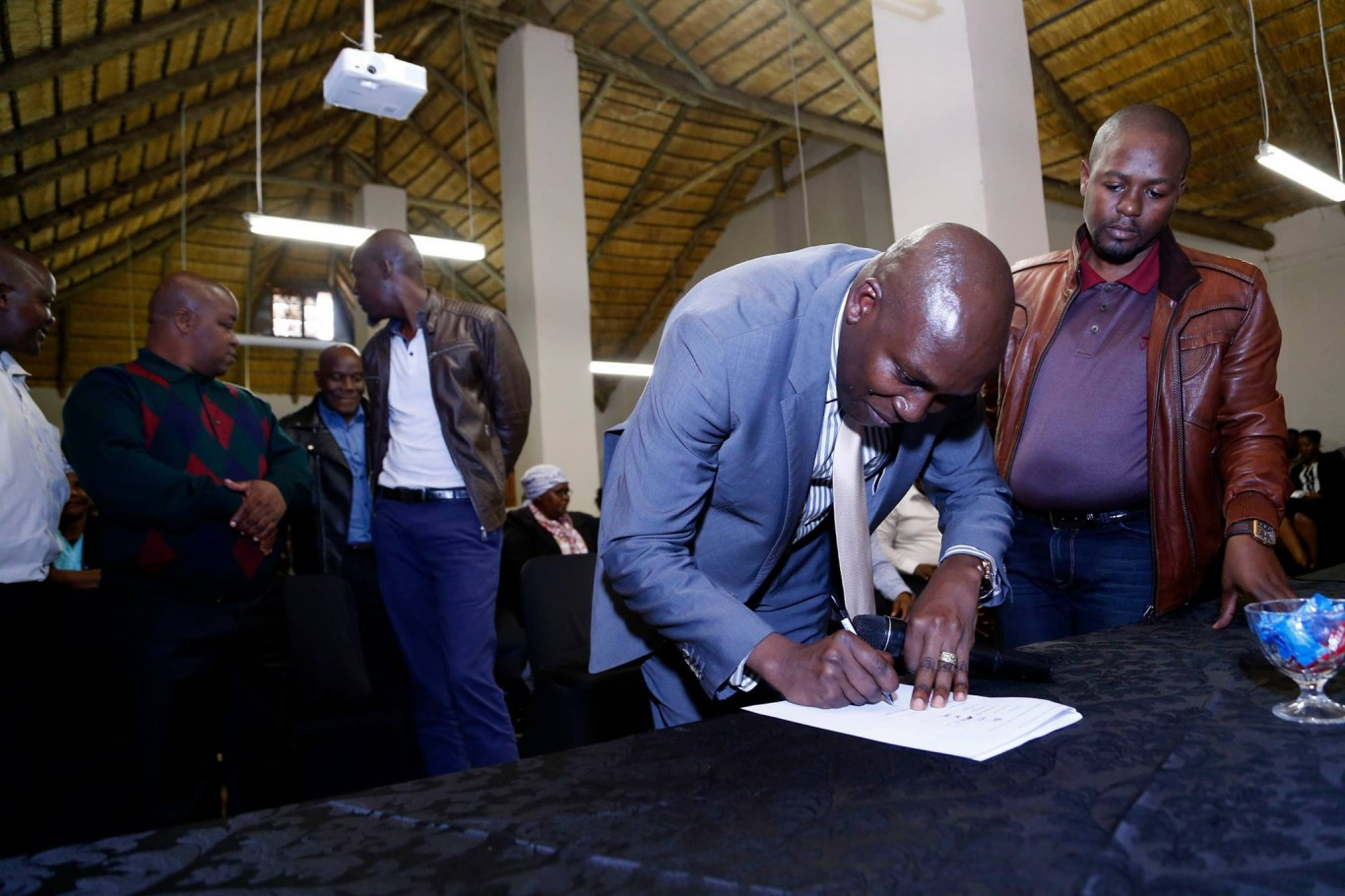 Memorandum of Understanding (MOU) signed with members of the Nongoma Taxi Association