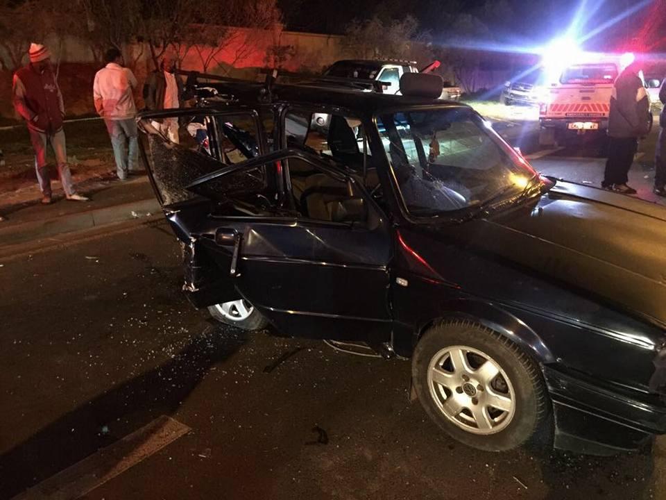 Three injured in collision on Kommetjie Road