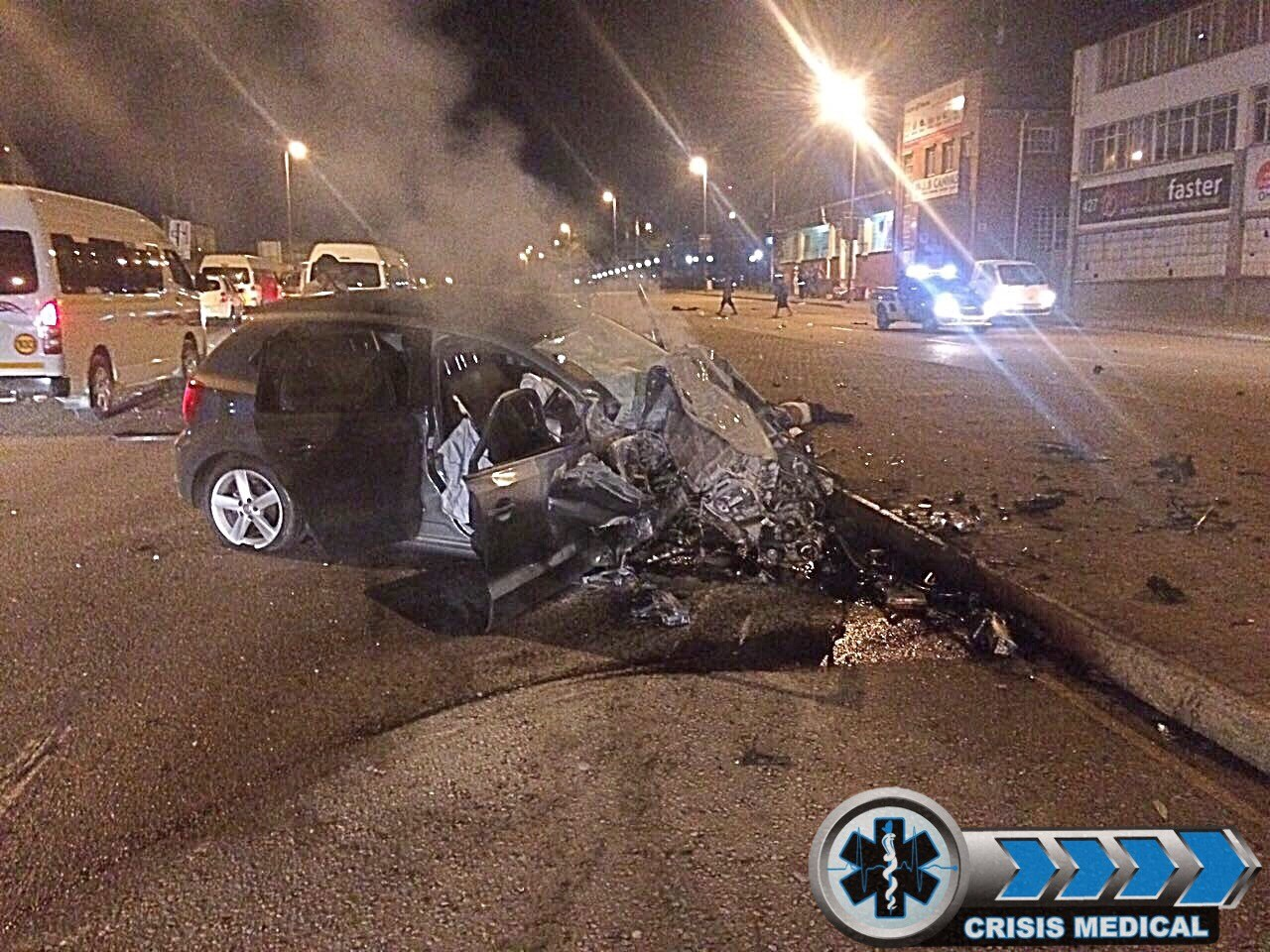 Horrific crash on Chris Hani (North Coast) Road