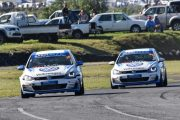 Hodges and Rowe poised to challenge at Zwartkops - Sasol GTC series