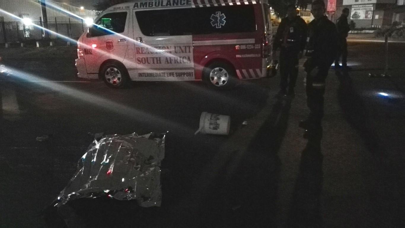 Pedestrian Crushed By Truck & Trailer, Phoenix