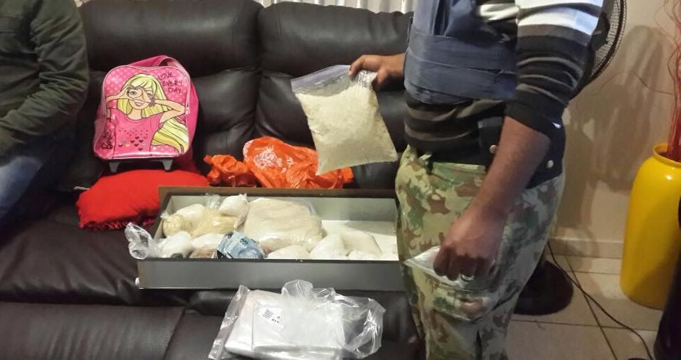 Two arrested in sting operation in possession of cocaine, tik and suspected stolen goods