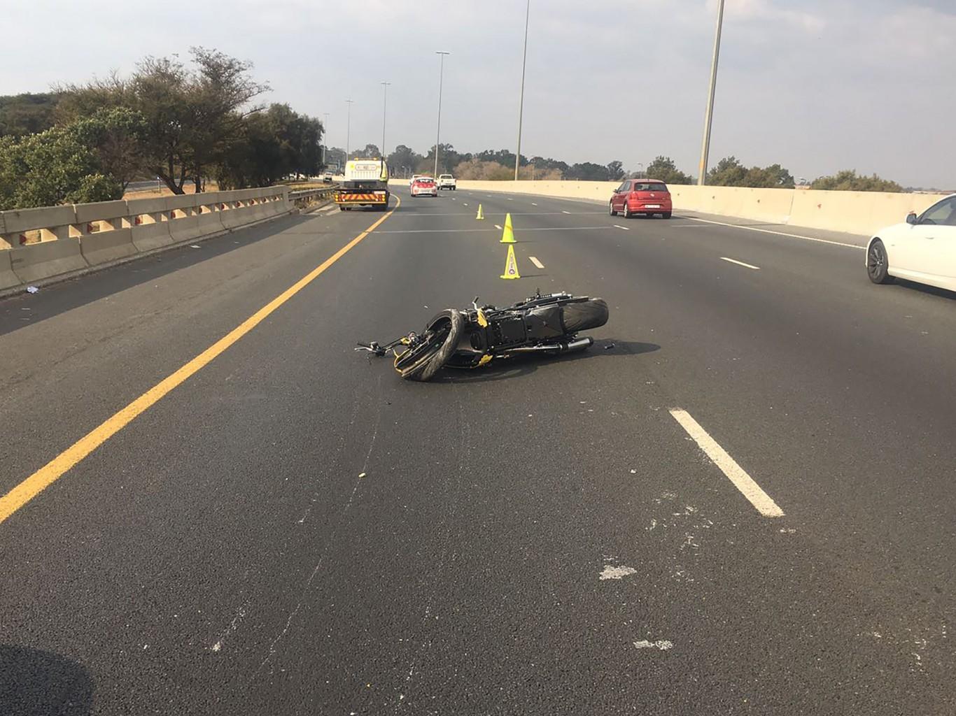 Motorbike rider involved in fatal crash on N12, Benoni