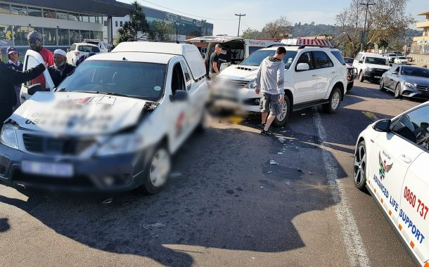 1 injured in crash on Old Main Road and Mason Road in Pinetown