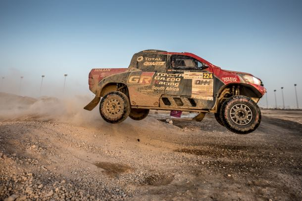 Toyota Gazoo racing SA to compete in Baja Aragon, Spain