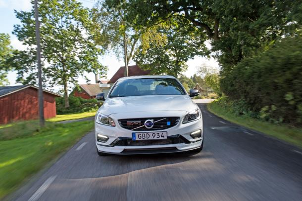 Updated Volvo S60 Polestar now with 30% extra downforce
