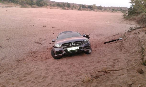 Vehicle recovered before being smuggled to Zimbabwe