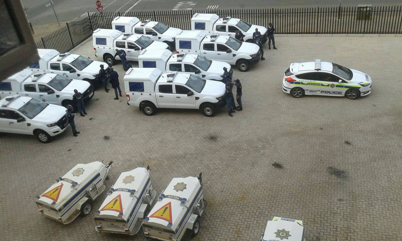 Twenty new SAPS vehicles deployed throughout the West Rand Cluster.
