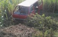 Taxi Crashes Into Ditch, Verulam