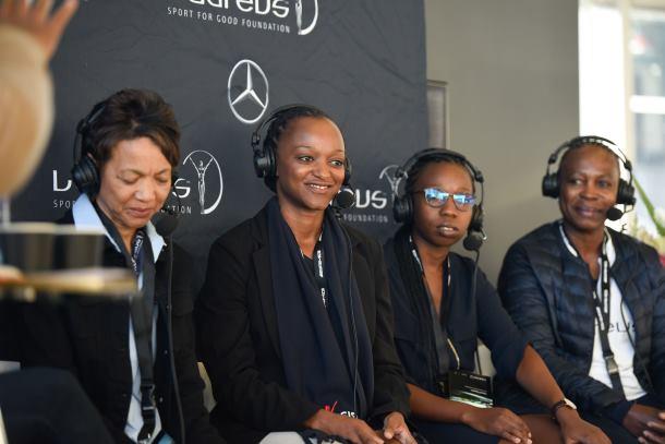 Women in sport: Mercedes-Benz & Laureus Sport for Good Foundation SA breakfast series