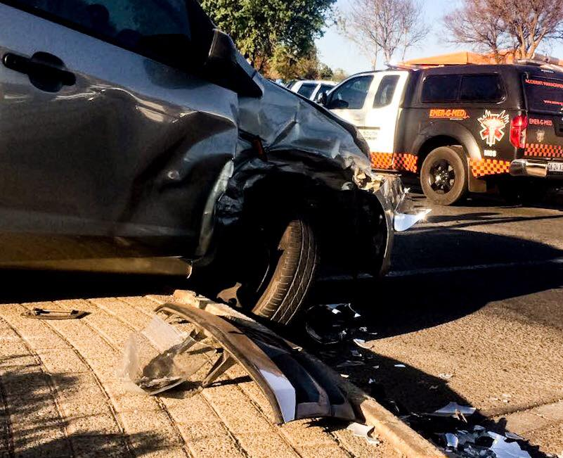 Patient transported to hospital after road crash in Alberton