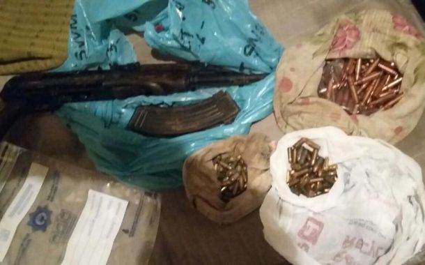Suspect arrested with an AK47 and ammunition in Heinz Park, Philippi East