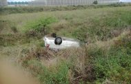 Vehicle rollover at King Shaka International Airport, KZN