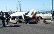 Blue Lagoon taxi crash leaves 1 dead multiple hurt