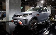 New Land Rover Discovery SVX production preview equipped with Goodyear concept tyres