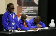 Teams battle in interprovincial road safety debate competition