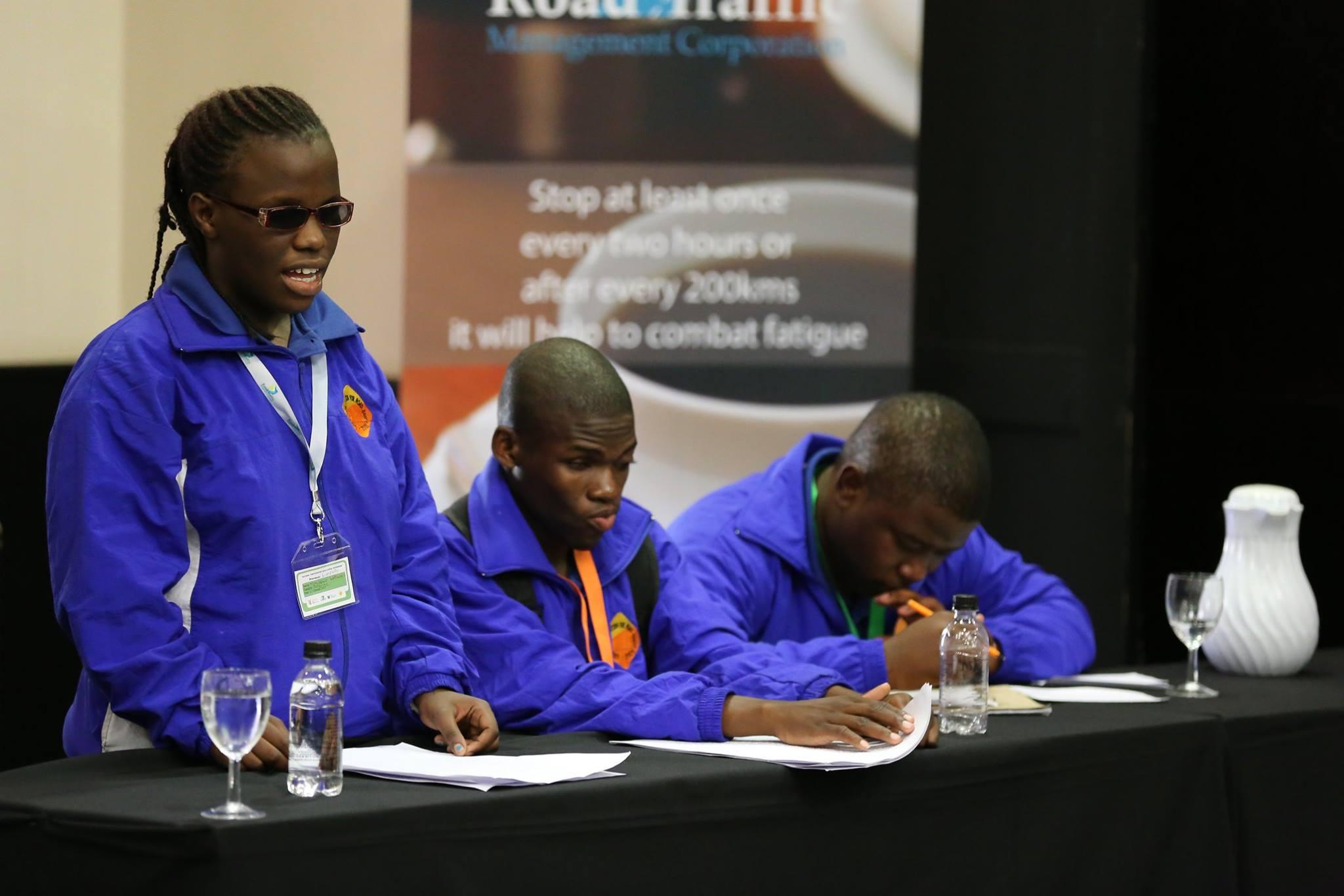 Teams battle in interprovincial road safety debate competition
