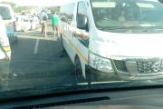 Multiple vehicle collision in Polokwane City