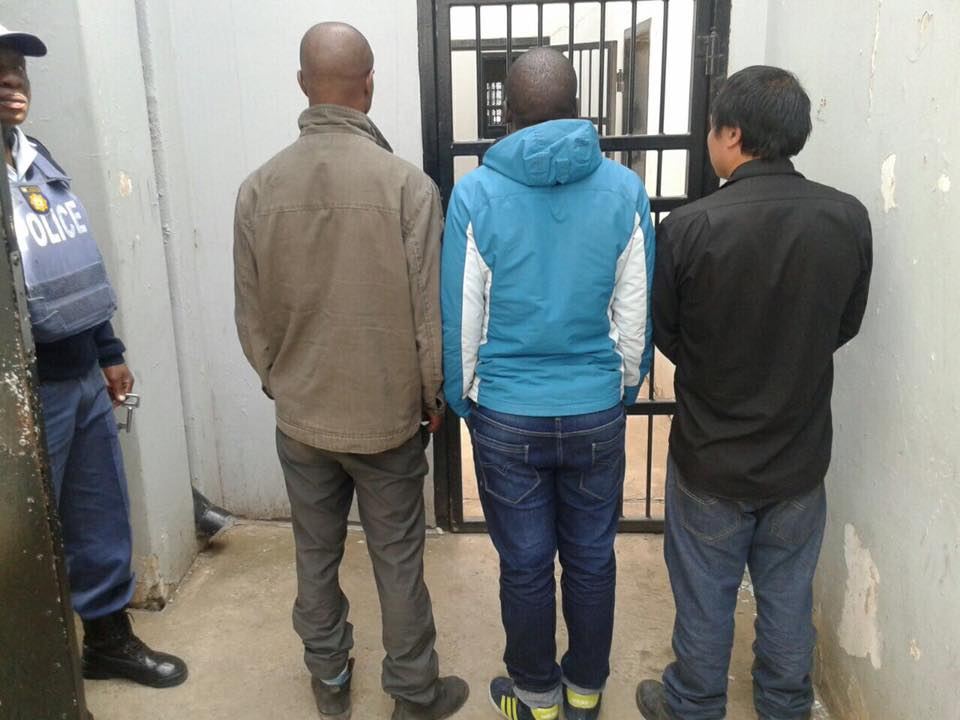 Five suspects arrested near Fouriesburg for cross-border crimes